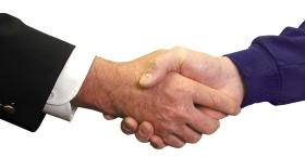 Intruder Alarm Handshake Image