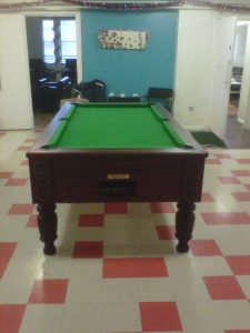 Donated Pool Table